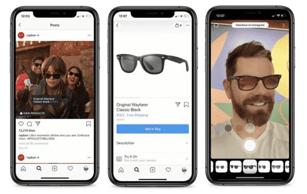 Instagram тестирует дополненную реальность (AR)